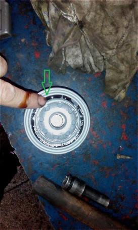 Замена масла и фильтра Киа Рио 3