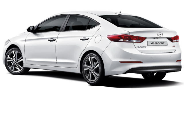Новый Hyundai Elantra 2016 года