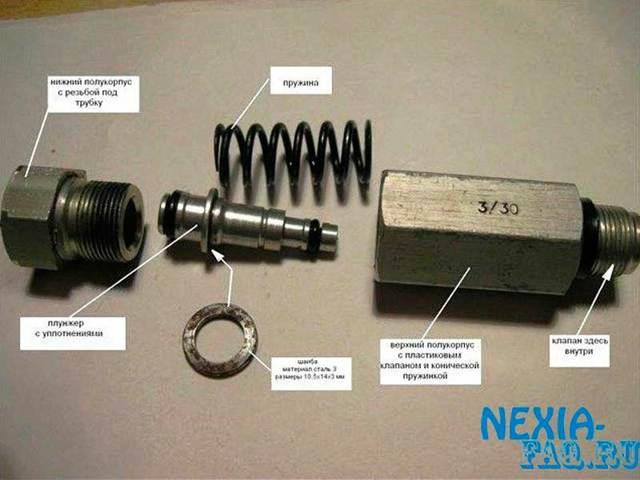 Тормозная система Дэу Нексия N150