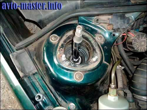 Замена амортизаторов Ауди 100 С4