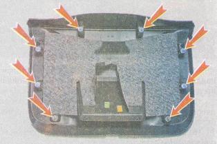 Снятие обшивки багажника на Рено Дастер, 2010 - 2015 г.в.