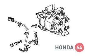 Замена компрессора кондиционера Хонда Цивик 4D/5D с 2006 г.в.