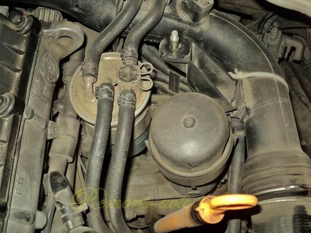 Замена топливного фильтра на дизельном Фольксваген Пассат Б6