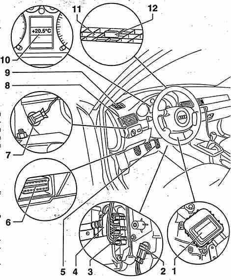 Кондиционер Ауди А6 С5