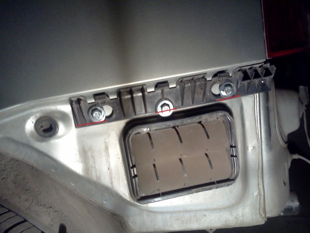 Замена заднего бампера на Рено Логан 2