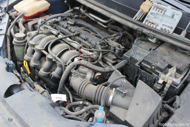 Замена дроссельного узла Форд Фокус 3
