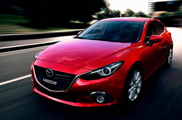 Новая Mazda 3 2014 [фото]