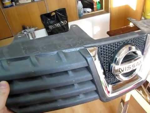 Замена решетки радиатора Хонда ЦРВ 1
