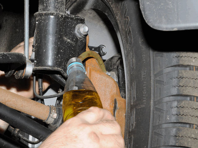 Замена тормозной жидкости Рено Дастер