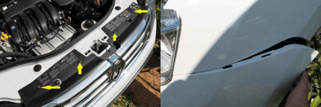Снятие и замена заднего бампера Renault Duster