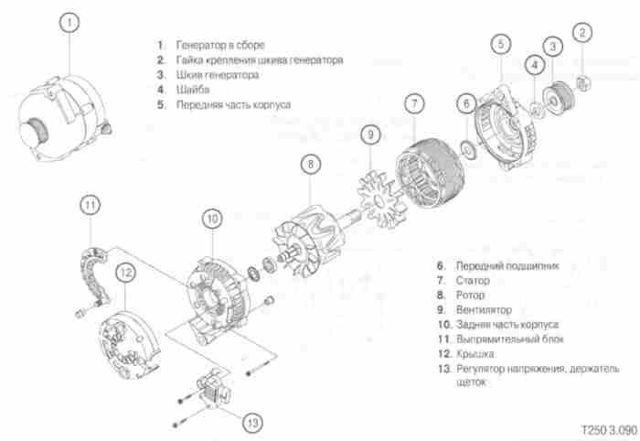Замена генератора Шевроле Авео Т200/Т250