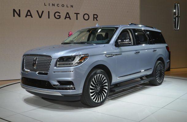 Новый Lincoln Navigator 2014 [фото]