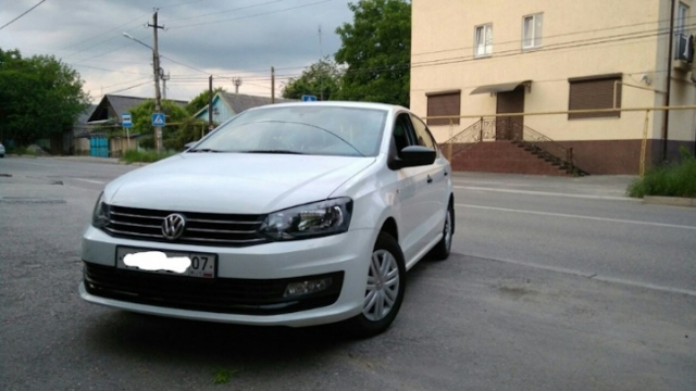 Кузов Volkswagen Polo Sedan 1.6 с 2010 гг.
