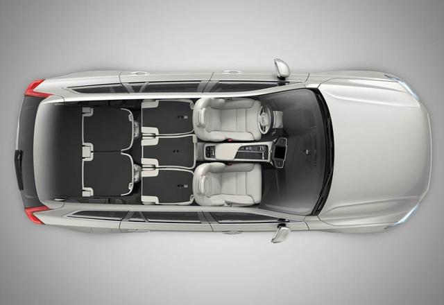 Volvo XC90 2014 - обновленный кроссовер от Вольво [фото]