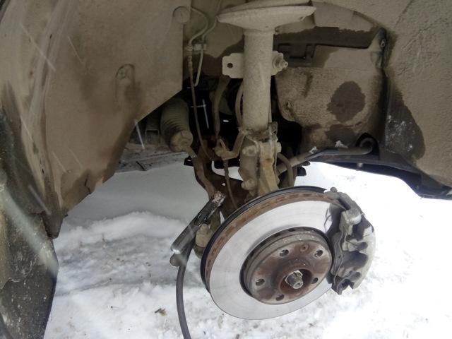 Замена защитного чехла рулевой тяги Рено Дастер, 2010 - 2015 г.в.