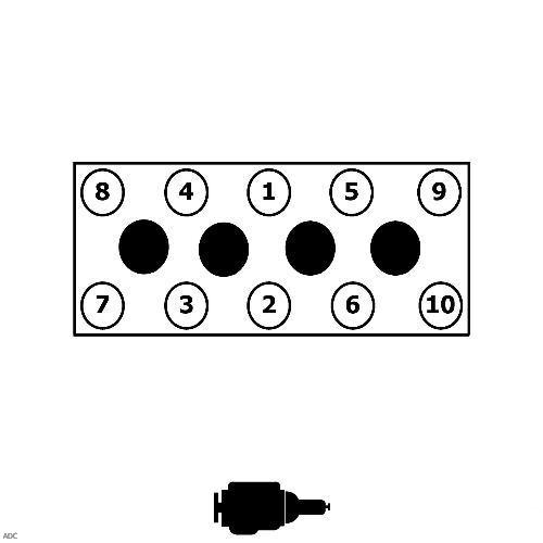 Момент затяжки болтов Мазда CX-7 (ER)