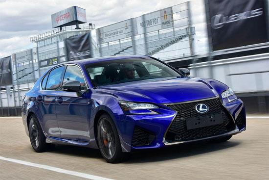 Дебютировал новый Lexus GS F 2016