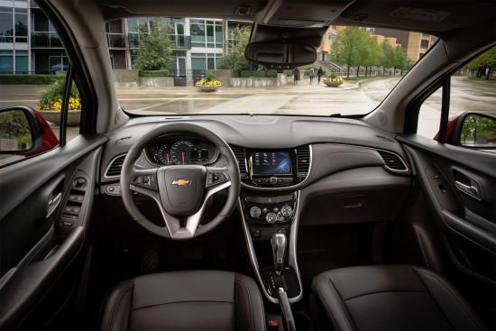 Chevrolet опубликовал фотографии кроссовера Tracker (Trax)