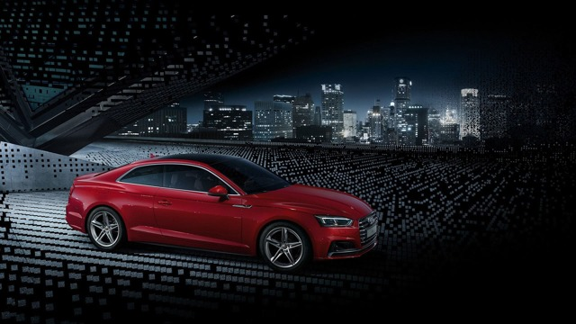 Audi A5 Coupe 2014 - новая A5 от Ауди