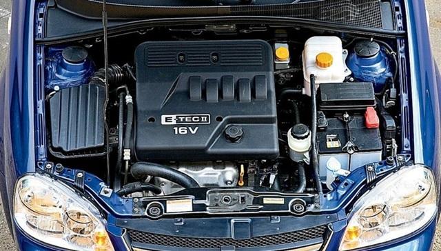 Характеристики двигателей Шевроле Лачетти