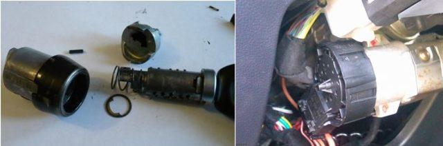 Замена замка зажигания на Фольксваген Поло седан