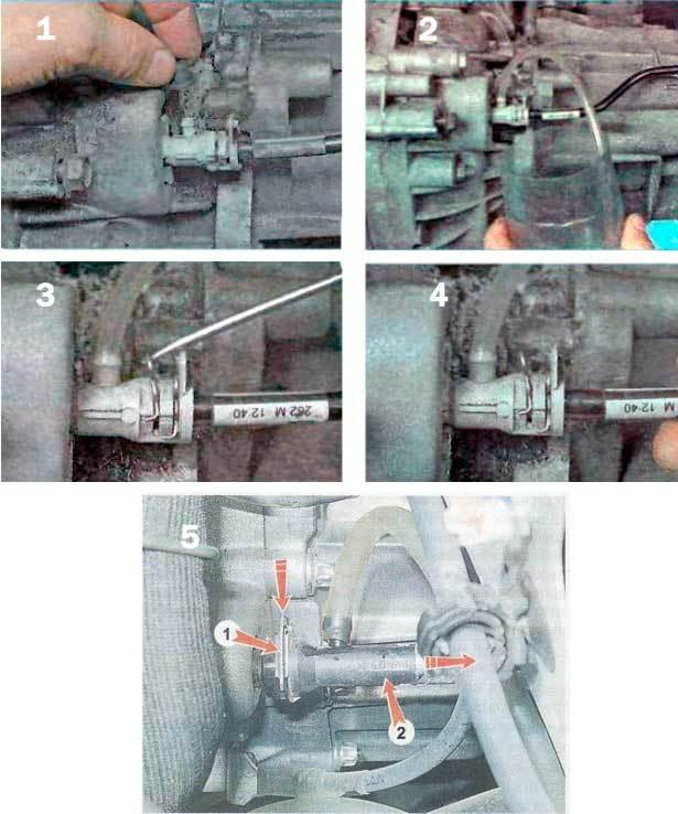 Замена рабочего цилиндра сцепления Рено Дастер
