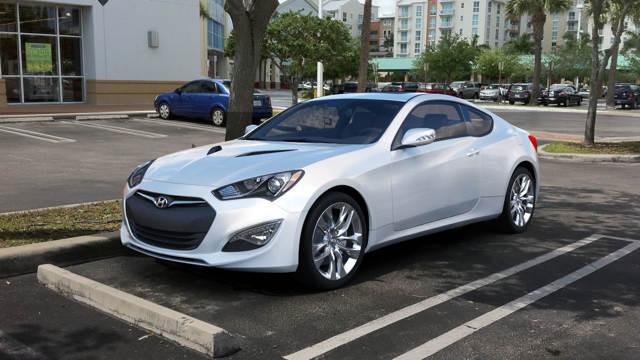 Hyundai Genesis Coupe 2014 - обновленный Генезис от Хендай [фото]