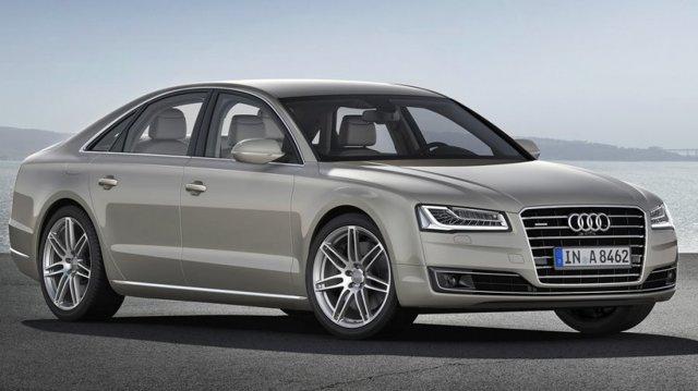 Audi A8 2014 – новый A8 от Ауди
