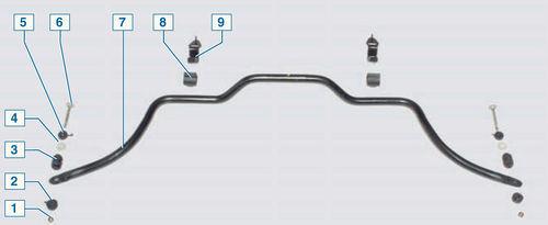 Замена подушек подвески системы выпуска на Рено Логан 2