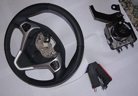 Замена кожуха рулевой колонки Ford Focus 3
