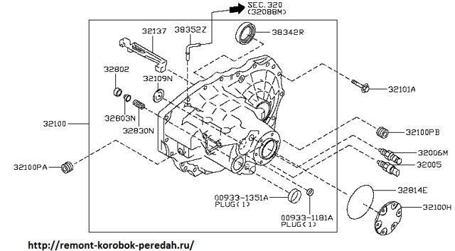МКПП Ниссан Примера П11