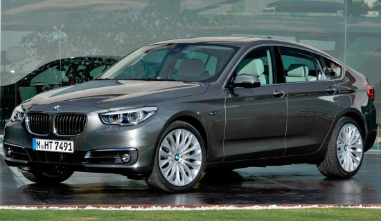 BMW 5 GT 2014 – обновленный Gran Turismo [фото]