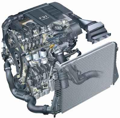 Двигатели Фольксваген Пассат Б6