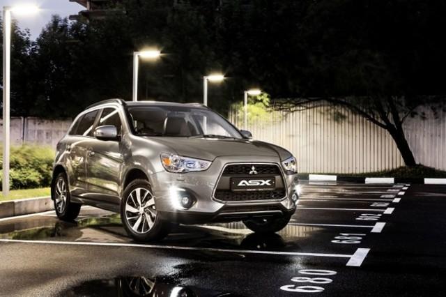 Mitsubishi ASX 2014 - обновленный Митсубиси ASX [фото]