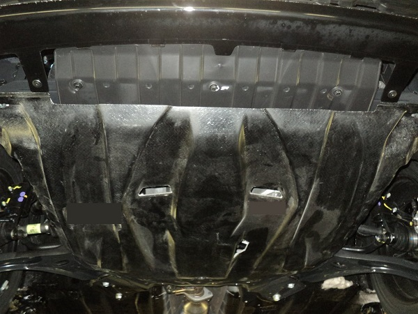 Замена защиты картера и брызговиков двигателя КИА Рио 3