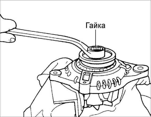 Замена генератора Киа Рио 3