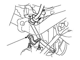 Замена штанги и подушек стабилизатора Киа Рио 3
