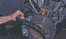 Задняя подвеска 2WD Renault Duster с 2010 г.в.