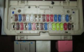 Предохранители и реле Тойота РАВ 4 III, 2006 - 2013 г.в.