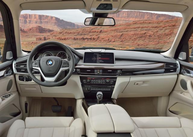 BMW X5 2014 - обновленный кроссовер от БМВ