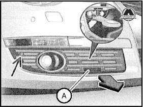 Замена и регулировка замка капота и запорной скобы Фольксваген Пассат Б6