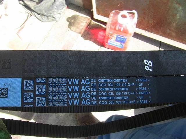 Замена ремня ГРМ на Пассат Б6 (1.6 BSE и 2.0 AXX/BWA/BLR/BLX/BLY)