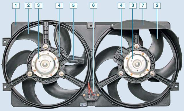 Система охлаждения Chevrolet Niva с 2009 г.в.