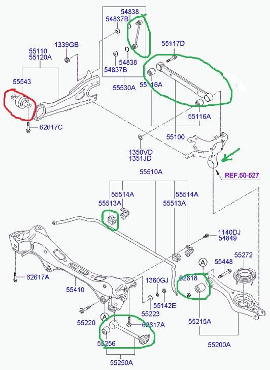 Передняя подвеска Хендай Элантра HD 4
