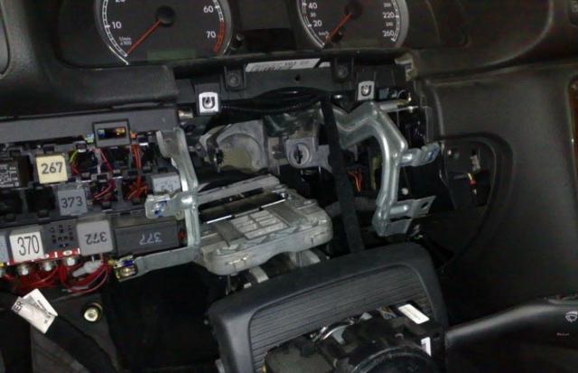 Снятие и установка радиатора Фольксваген Пассат Б5