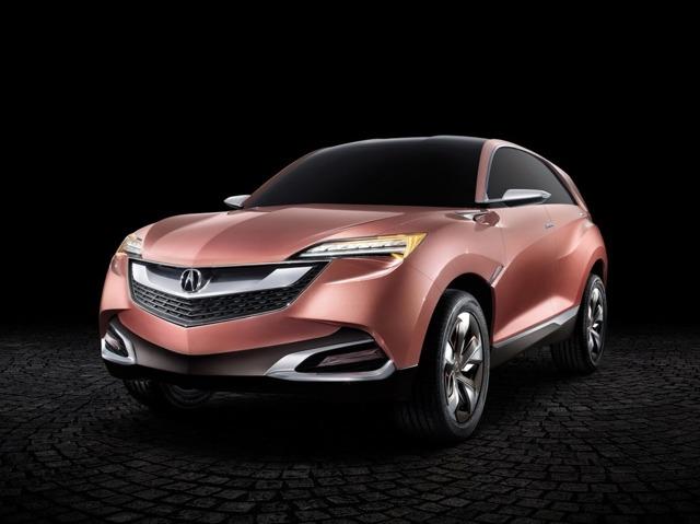 Honda показала концепт кроссовера Acura SUV-X