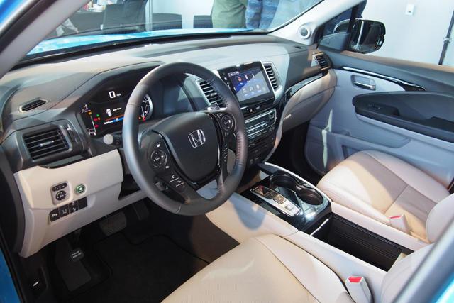 Honda Pilot 2016: официальные фото и информация