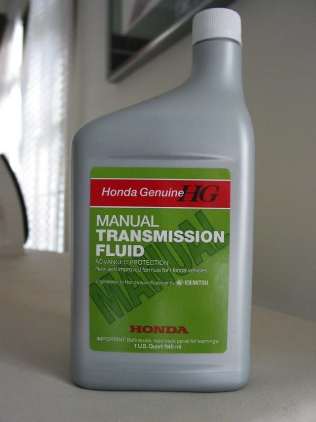 Замена масла в МКПП Хонда Цивик 4D/5D 1.8 (R18A1)