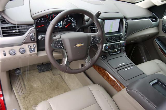 Новый Chevrolet Tahoe 2014 [фото]