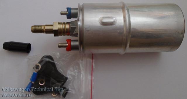 Замена топливного насоса Ауди 100 С4